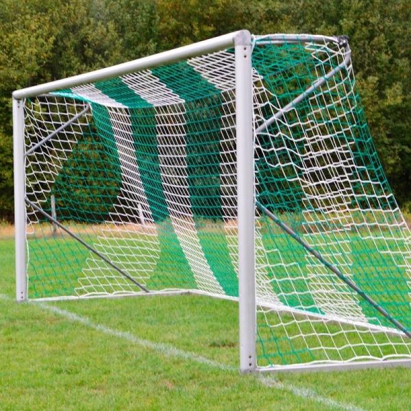 Fußball-Tornetz 7,50 x 2,50 m zweifarbig