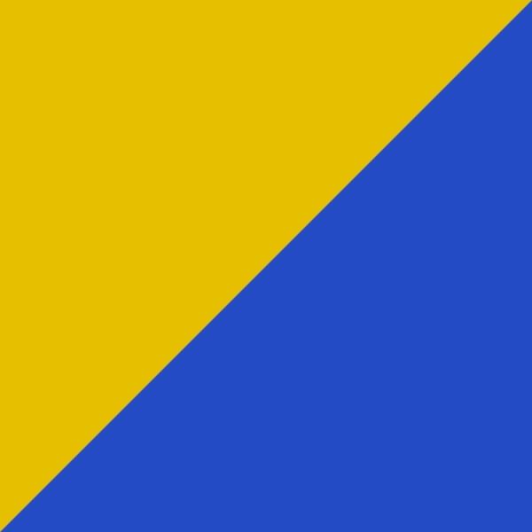 blau/gelb
